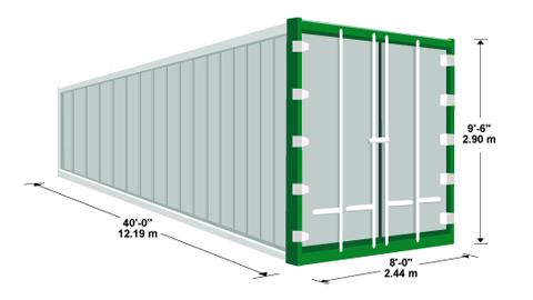 Các khái niệm khi tìm hiểu về container 40 bạn cần biết - Ảnh 2